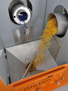 Die Auswahl der Dosierorgane hängt vom Material, dem Dosierprinzip und dem erforderlichen Durchsatz ab.